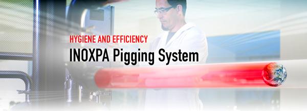 的清管系统,最佳卫生和高效率