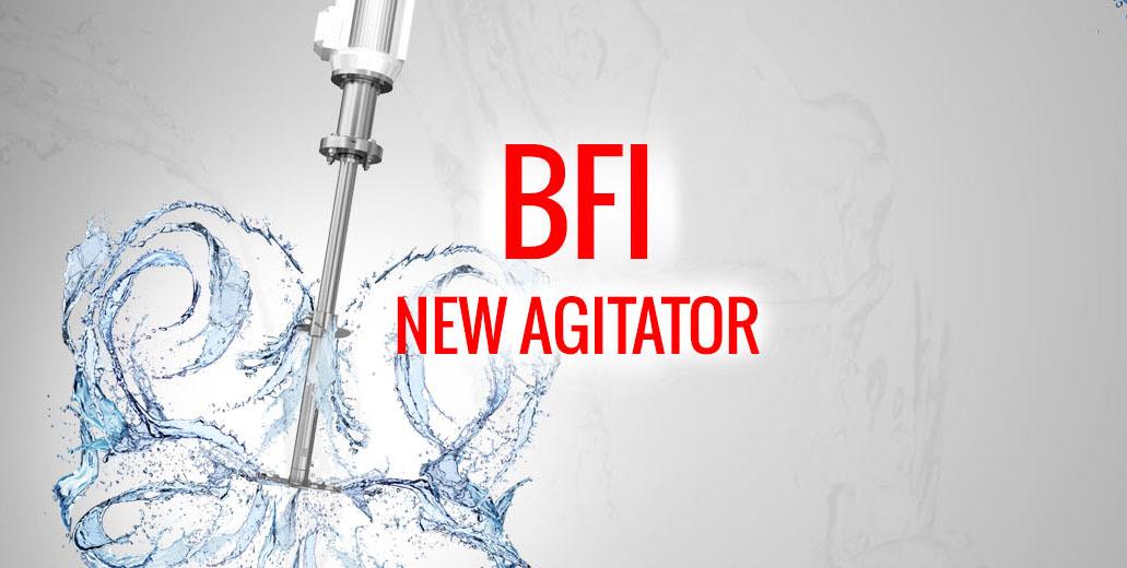 New BFI agitator