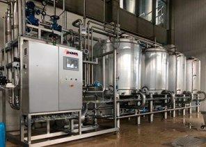 乳制品加工过程清洗优化