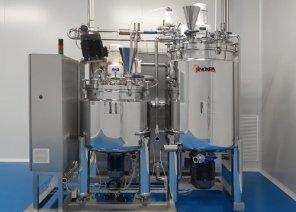 染发剂、凝胶和美容霜自动化生产线