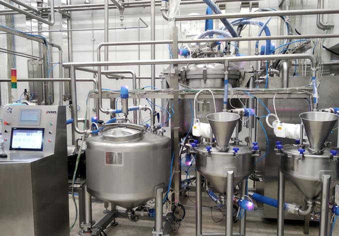 蛋黄酱批量生产工厂
