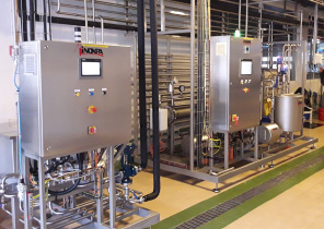 用于加工乳制品的自动化设备